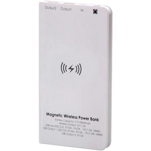 Внешний аккумулятор Elari MagnetPower 7800 мАч белыйДополнительные и внешние аккумуляторы<br>Благодаря Elari MagnetPower вы сможете заряжать сразу 3 устройства!<br><br>Цвет товара: Белый<br>Материал: Пластик