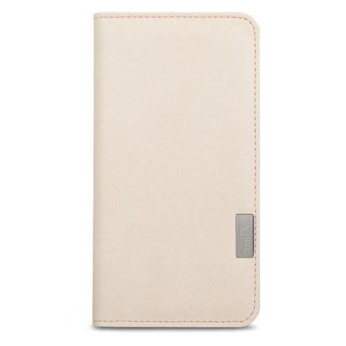 Чехол Moshi Overture Wallet Case для iPhone 7 (Айфон 7) белыйЧехлы для iPhone 7<br>В Moshi Overture Wallet встроена накладка, которая обеспечивает высокий уровень защиты от ударов и падений.<br><br>Цвет товара: Белый<br>Материал: Поликарбонат, полиуретановая кожа