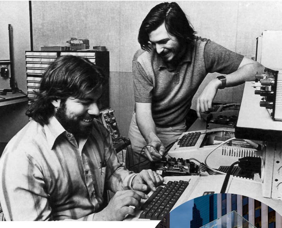 history of apple computers founded by steve jobs and steve wozniak Apple co-founder steve wozniak told steve wozniak is still on apple's payroll four decades after co during a panel discussion at the computer history.