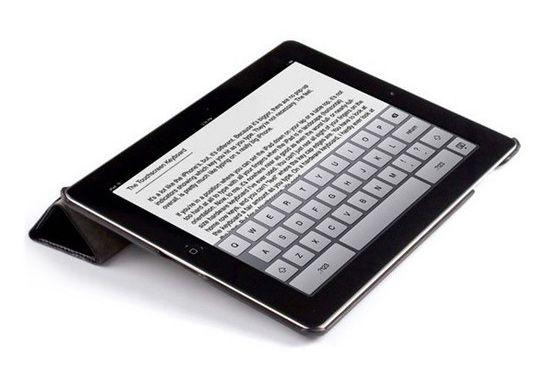 Чехол Jison Smart Leather Case для iPad 3/iPad 2 (черный)