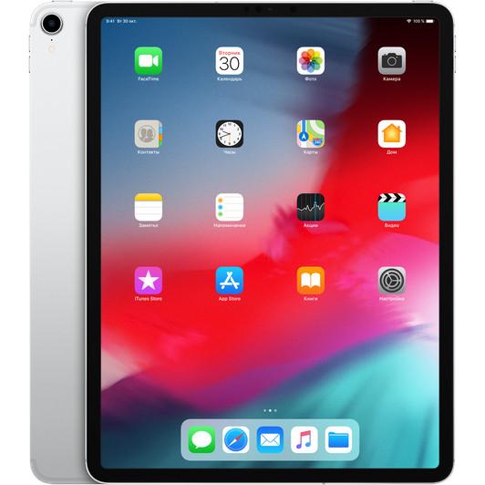 "Apple iPad Pro 12,9"" (2018) 256 Гб Wi-Fi + Cellular Серебристый"