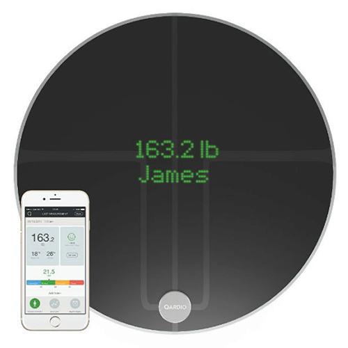 Умные весы Qardio QardioBase 2 (B200-IVB) для iOS/Android черные