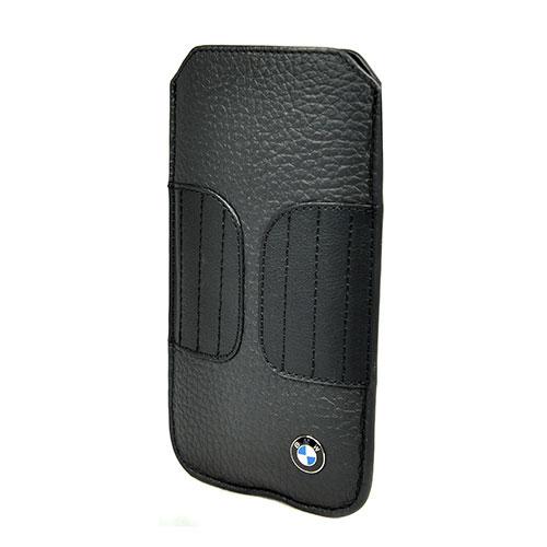 Чехол BMW Signature Sleeve BMPOP5LK для iPhone 5/5S/SE Черный