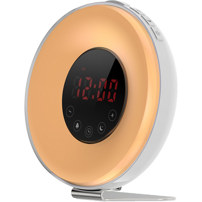 Светобудильник Новый Рассвет белый (MT5045)