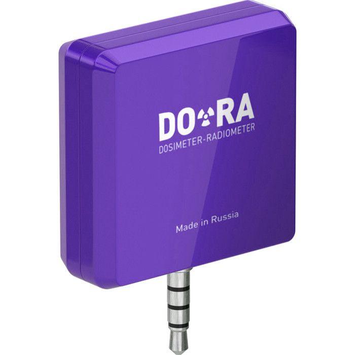 Индикатор ионизирующего излучения универсальный DO-RA.Q сиреневый (VDR-IRQ1801-lilac)