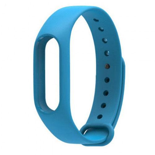 Ремешок для браслета Xiaomi Mi Band 2 голубой