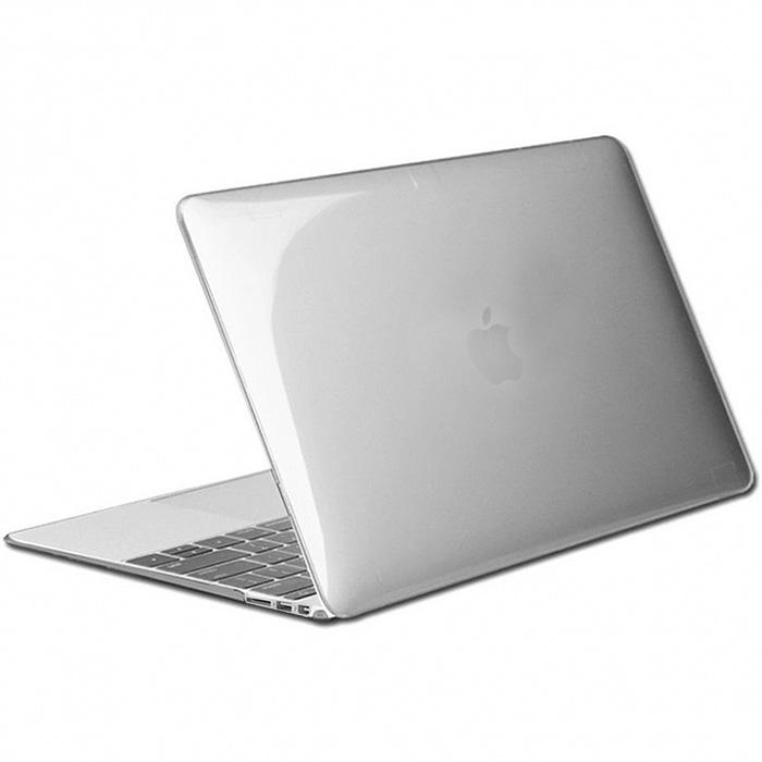 """Чехол Crystal Case для MacBook Air 13"""" прозрачный глянцевый"""