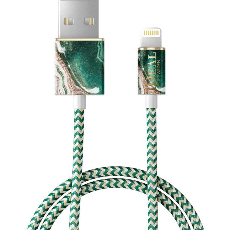 Кабель Ideal of Sweden Fashion Cable (1 метр) Golden Jade Marble