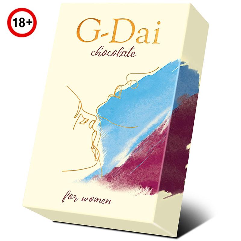 Возбуждающий тёмный шоколад для женщин G-Dai (15 г)