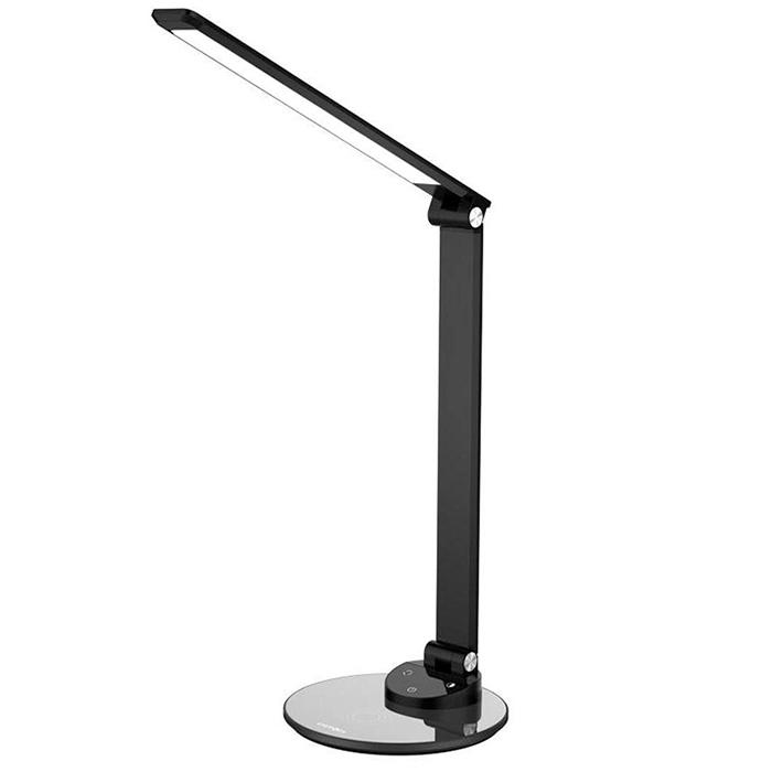 Настольная лампа EnergEA WiLamp с функцией беспроводной зарядки чёрная (WILAMP-75-EU)