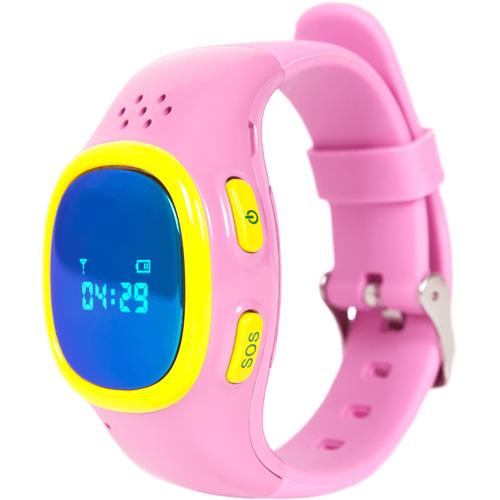 Детские часы-телефон для детей Enjoy the Best (EnBe) Children Watch 2 с функцией GPS-трекера розовые