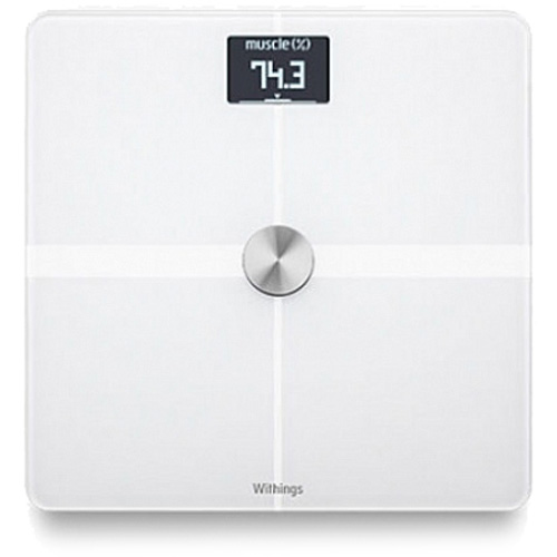 Весы Nokia Body Composition Wi-Fi Scale WBS05 WH для iOS/Android белые
