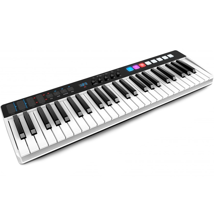 Портативная миди-клавиатура с контроллером IK Multimedia iRig Keys I/O (49 клавиш) для iOS, Mac, PC