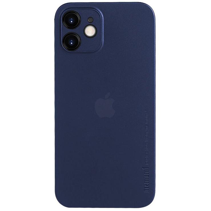 Чехол Memumi Ultra Slim 0.3 для iPhone 12 mini синий