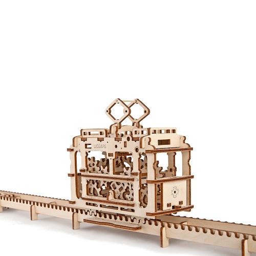3D-пазл UGears Трамвай (Tram)