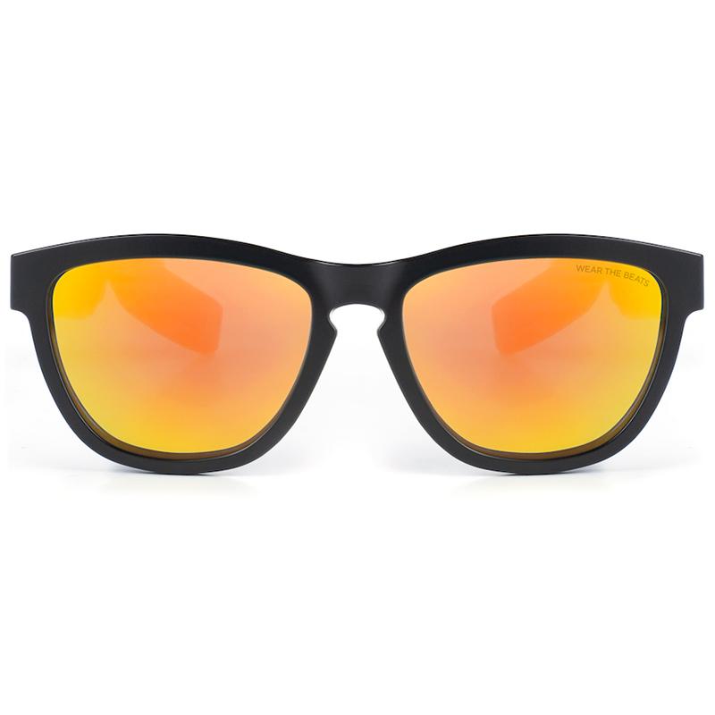 Солнцезащитные очки-наушники Zungle V2 Viper чёрные