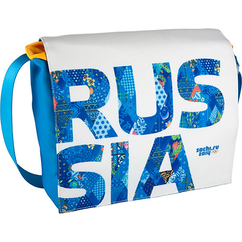 "Сумка Sochi2014 RUS-MS15-BL для MacBook Pro 15"" Синяя"