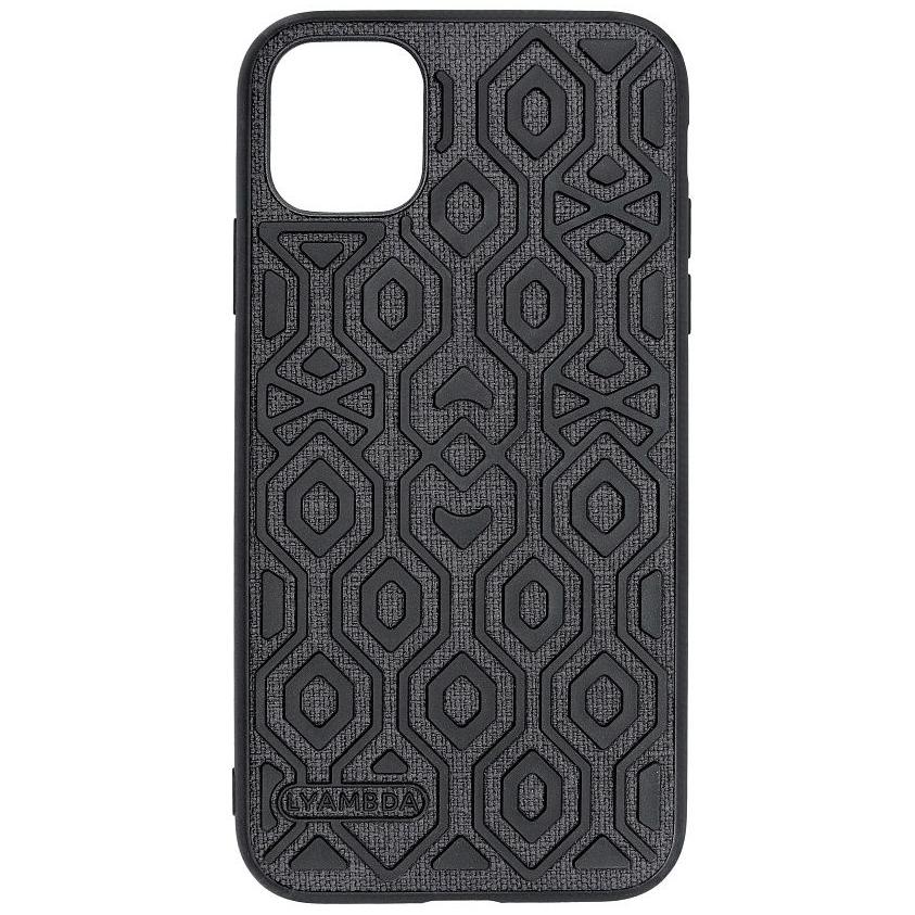 Чехол Lyambda Eris для iPhone 12 Pro Max чёрный (LA11-1267-BK)