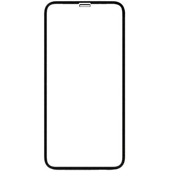 Защитное стекло HARDIZ 3D Cover Premium Glass для iPhone 11 Pro/Xs/X чёрное