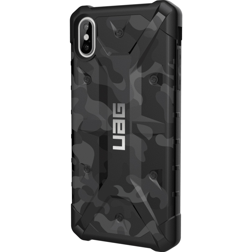 Чехол UAG Pathfinder SE Camo для iPhone Xs Max серый (Midnight)