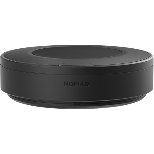 Беспроводное зарядное устройство Nomad Wireless Hub 5 Devices чёрное