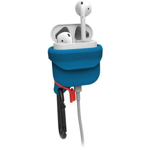 Чехол Catalyst Waterproof Case для AirPods синий/оранжевый (BlueRidge/Sunset)