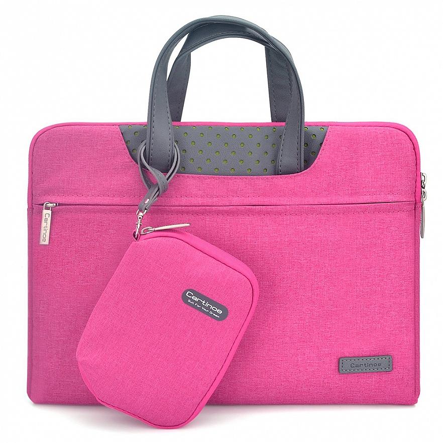 """Сумка Cartinoe Dream Series Pouch для MacBook 12"""" розовая"""