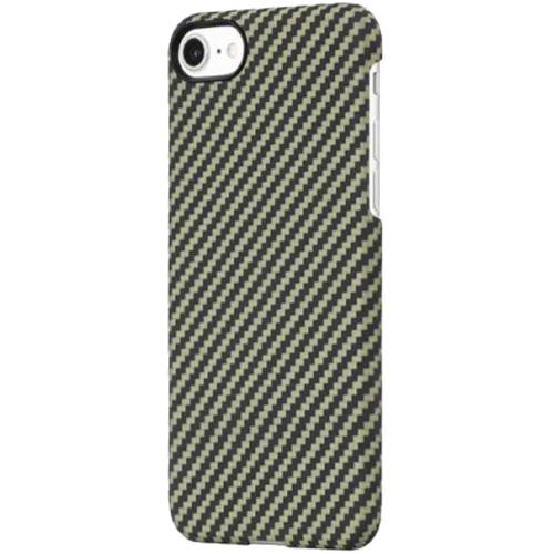 Чехол PITAKA MagCase для iPhone 7/8/SE 2 зелёный карбон