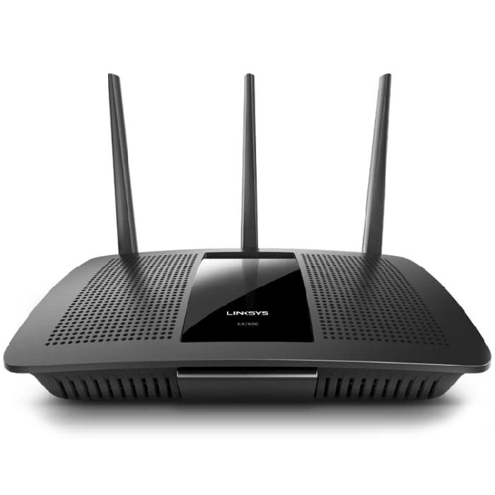 Роутер Linksys Wi-Fi Router AC1900 MU-MIMO Gigabit чёрный (EA7500-EU)