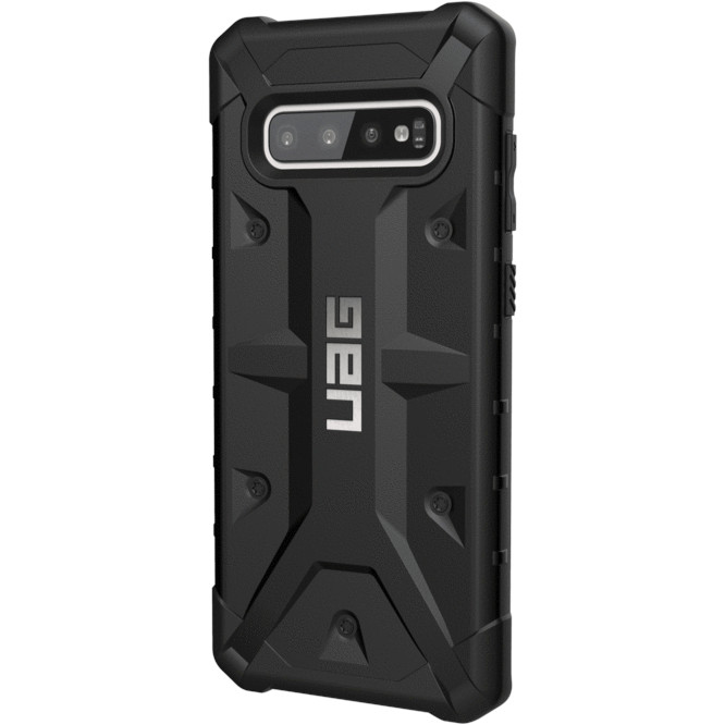 Чехол UAG Pathfinder Series Case для Samsung Galaxy S10+ чёрный