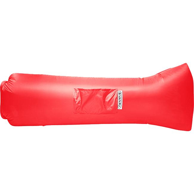 Надувной диван Биван 2.0 красный