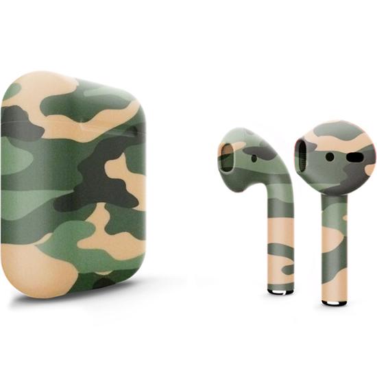 Беспроводные наушники Apple AirPods 2 (второе поколение) Custom Edition камуфляжные