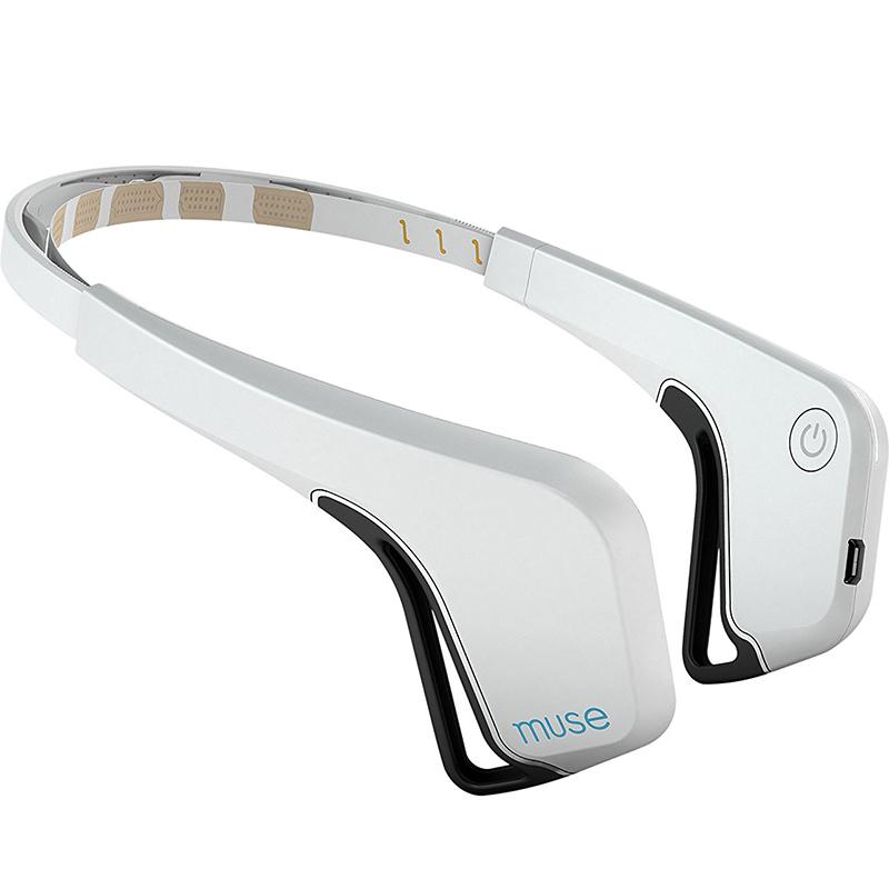 Прибор для медитации Muse: The Brain Sensing Headband белый