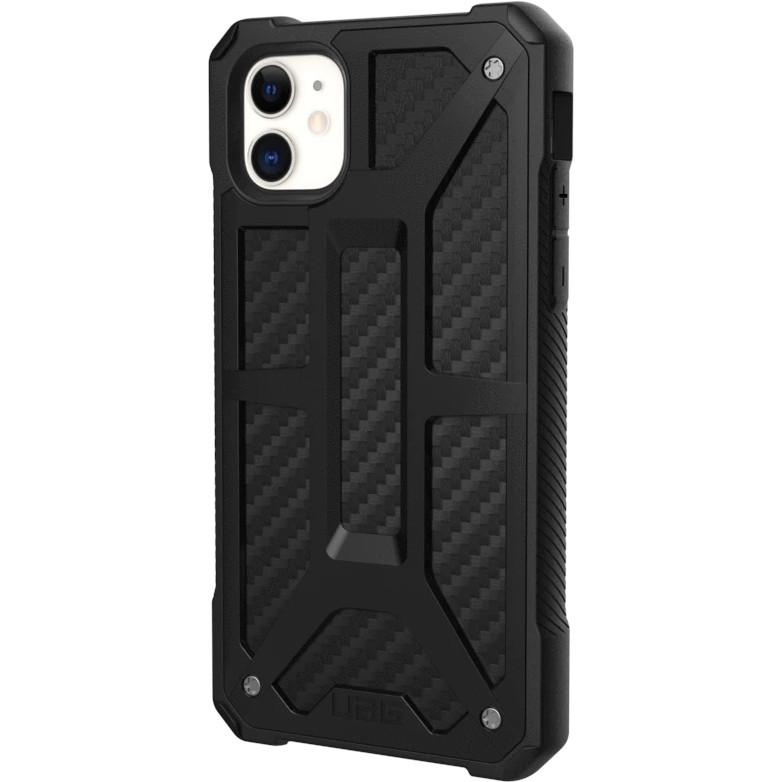 Чехол UAG Monarch Series Case для iPhone 11 чёрный карбон