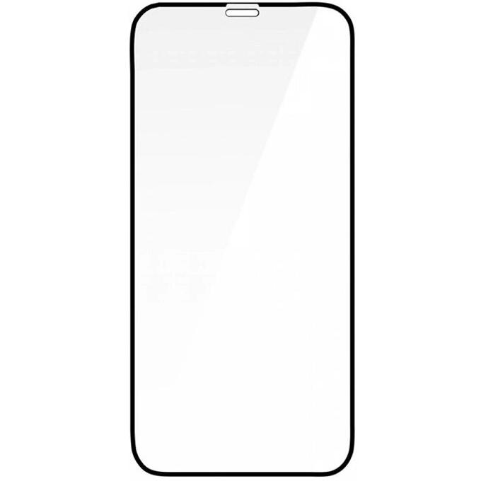 Защитное стекло Royal 9H для iPhone 12 Pro Max чёрное