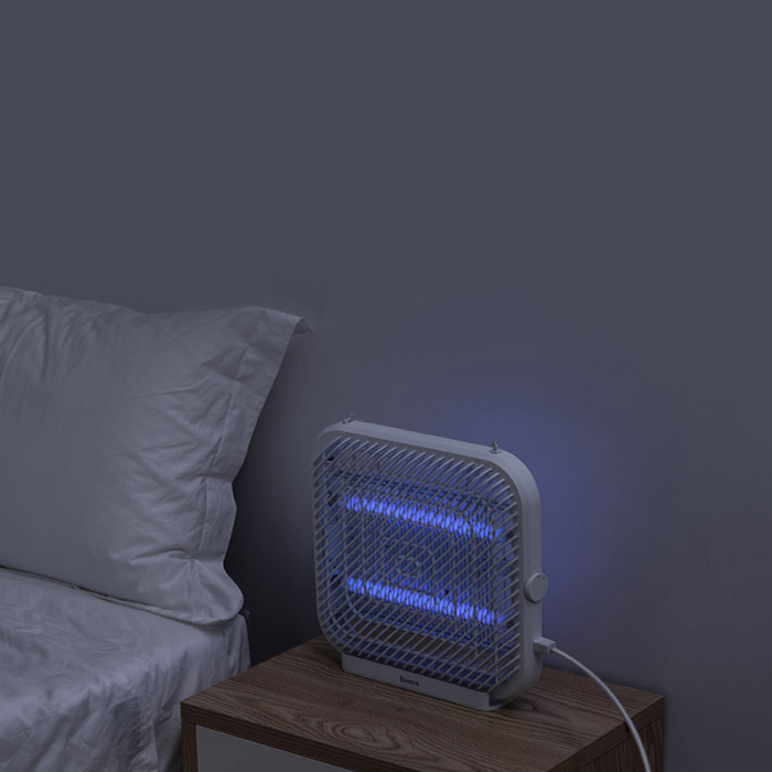 Ловушка для насекомых Baseus Breeze wall-mounted bug zapper белая (ACMWD-FB02)
