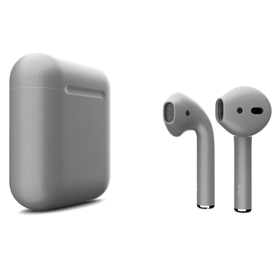 Беспроводные наушники Apple AirPods 2 (второе поколение) Custom Edition тёмный металлик