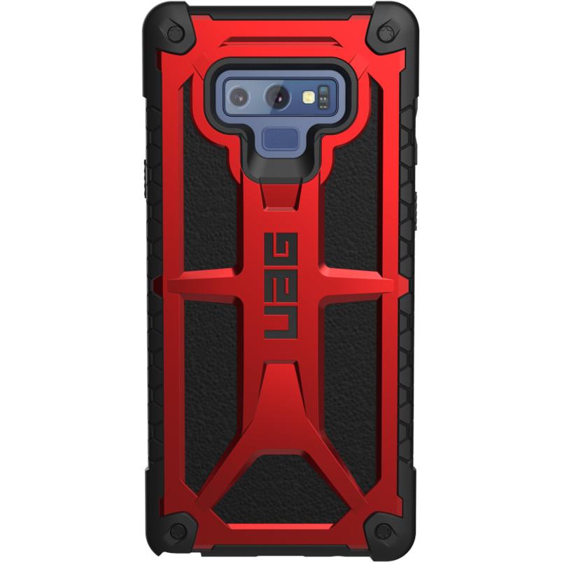 Чехол UAG Monarch Series Case для Samsung Galaxy Note 9 красный Crimson