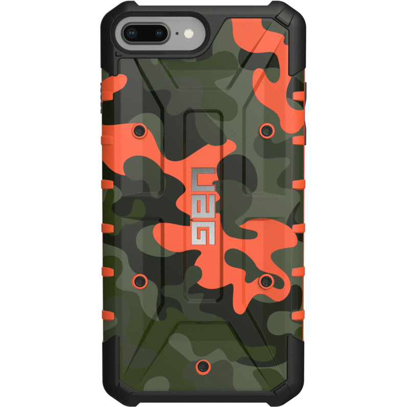 Чехол UAG Pathfinder SE Series Case для iPhone 6 Plus/6s Plus/7 Plus/8 Plus зелёный (Hunter Camo)