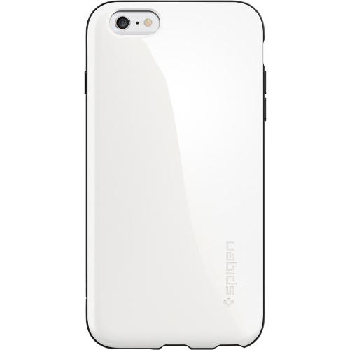 wholesale dealer 7dbbf f34df Чехол Spigen Capella для iPhone 6/6s Plus мерцающий белый SGP11087