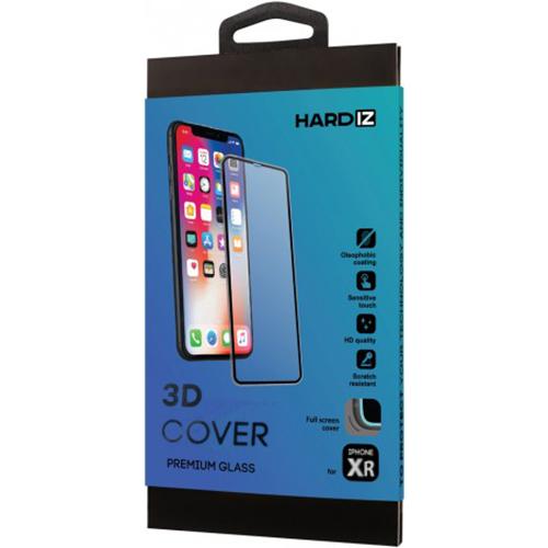 Защитное стекло HARDIZ 3D Cover Premium Glass для iPhone 11/XR чёрной рамкой