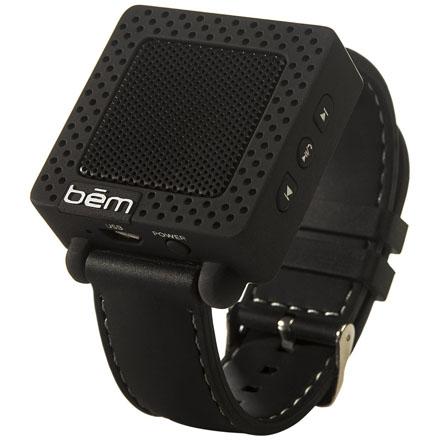 Портативная колонка-браслет Bem speaker band черная