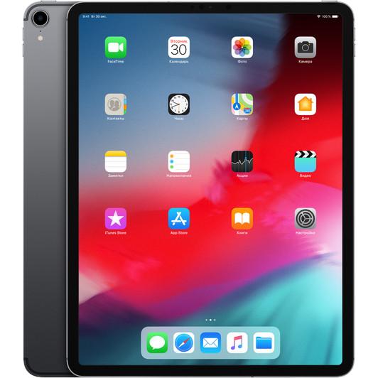 "Apple iPad Pro 12,9"" (2018) 256 Гб Wi-Fi + Cellular Серый космос"