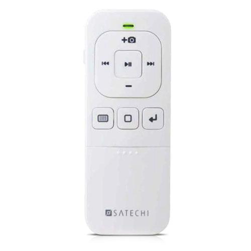 Пульт управления Satechi Bluetooth Multi-Media Remote Control для iPhone, iPad и Mac белый