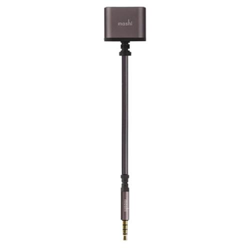 Аудио-разветвитель Moshi Jack Splitter (2 порта 3,5 мм) чёрный
