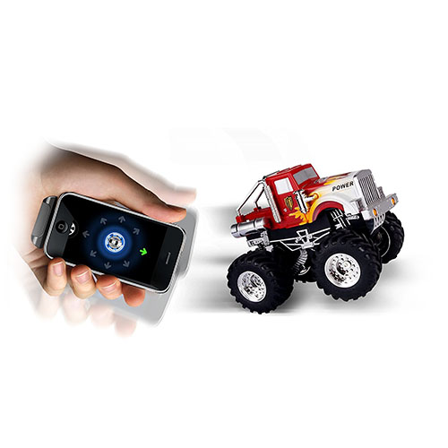 Dexim AppSpeed Monster Truck для iPhone / iPod Touch / iPad белый