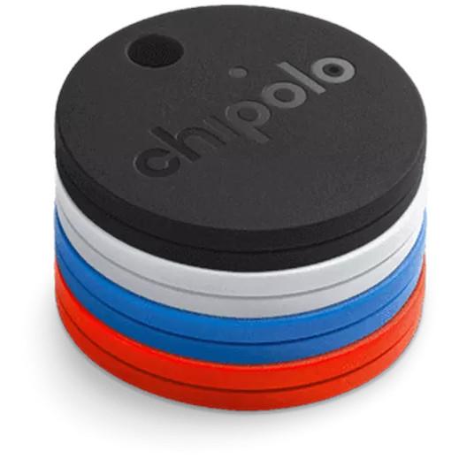 Комплект поисковых трекеров Chipolo Classic (4 штуки) Standard Mix (CH-M45S-4COL-R)