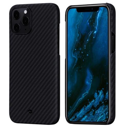 Чехол PITAKA MagEZ Case для iPhone 12 Pro Max чёрный карбон