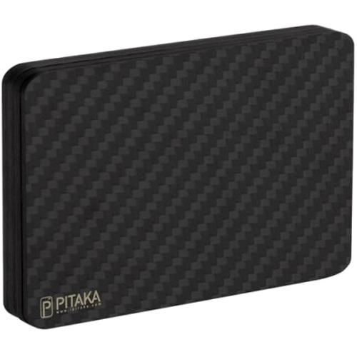 Магнитный кошелёк Pitaka MagWallet Carbon чёрный
