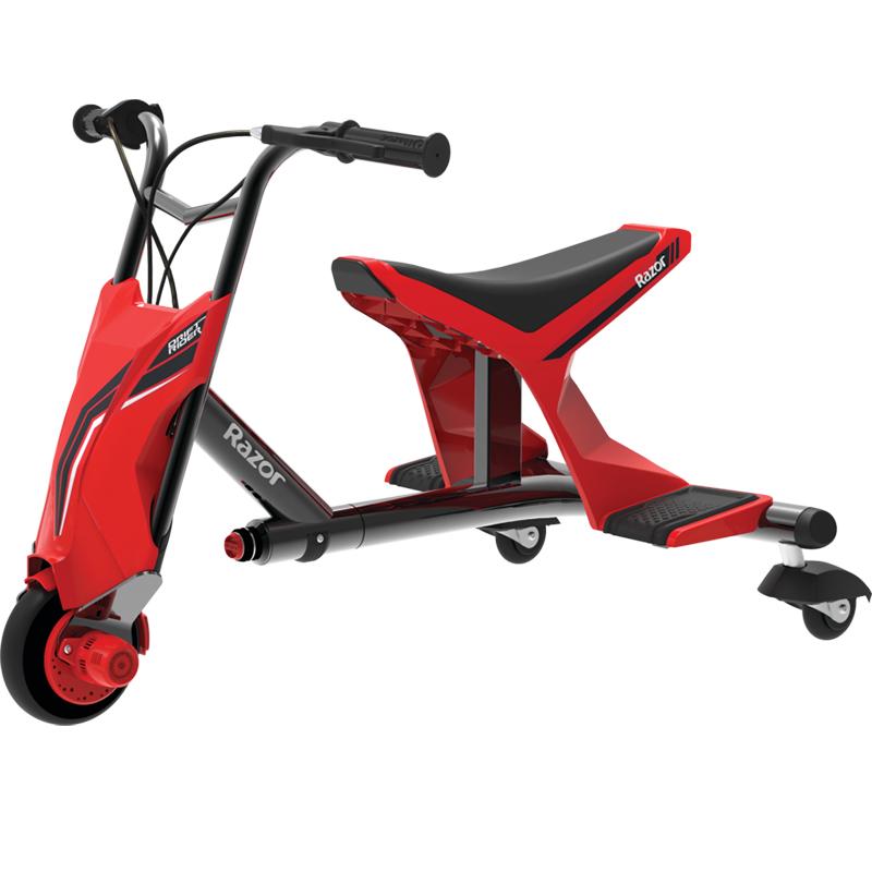 Электробайк Razor Drift Rider красный